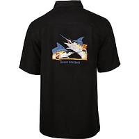 Men's Booze Brothers Embroidered Fishing Shirt