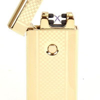 Dual Arc Plasma Lighter USB Rechargeable Flameless & Windproof