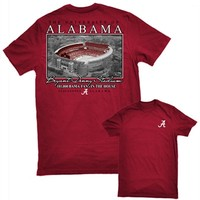 Alabama Bryant Denny Stadium T-Shirt | Alabama Football T-Shirt | Crimson Tide T-Shirt