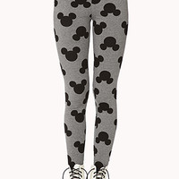 Mickey Mouse Printed Leggings