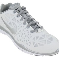 Nike Women's Free TR Fit 3 - Summit White / Metallic Silver-Black, 7.5 B US