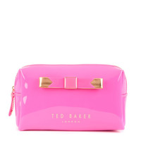 Small bow cosmetic case - Bright Pink | Gifts for Her | Ted Baker