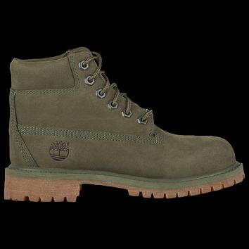 "6"" Fabric Boot 'Dark Green'"