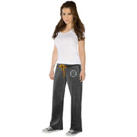 Touch by Alyssa Milano Boston Bruins Ladies Star Player Burnout Pants - Black