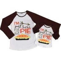 Mommy & Me - I am just here for the pie
