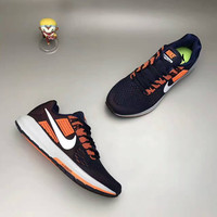 """""""NIKE"""" Fashion Casual Multicolor Knit Fly Line Sneakers Men Running Shoes"""