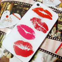 TuT TuT Fashion — Sexy Lip/One Piece/Romantic Lover Iphone4/4s Skin