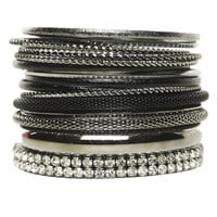 15 Piece Bangle Set | Shop Jewelry at Wet Seal