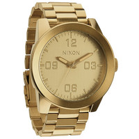 Nixon The Corporal Ss Watch All Gold One Size For Men 22202162101