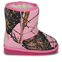 Girls' Mossy Oak Boots - Pink Breakup Infinity