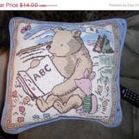 ON SALE NOW Disney Pooh bear and Piglet Abc pillow