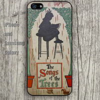the songs of the tree iphone 6 6 plus iPhone 5 5S 5C case Samsung S3,S4,S5 case Ipod Silicone plastic Phone cover Waterproof