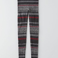 AEO Women's Hi-rise Sweater Legging (Black)