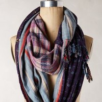 Fela Loop Scarf by Ace & Jig Blue One Size Scarves