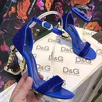 Dolce & Gabbana D&G Women Fashion High Heels Shoes