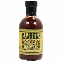 Tequila Lime Chile BBQ Sauce by CaJohns 16 oz