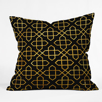 Three Of The Possessed The Message Outdoor Throw Pillow