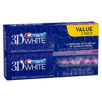 Crest 3D White Radiant Mint Flavor Whitening Too... : Target