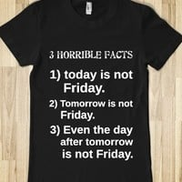3 HORRIBLE FACTS