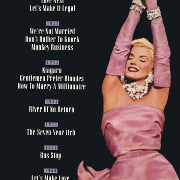 Marilyn Monroe 27x40 Movie Poster