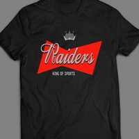 RAIDERS, THE KING OF SPORTS T-SHIRT
