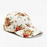 Rosin Floral Baseball Hat