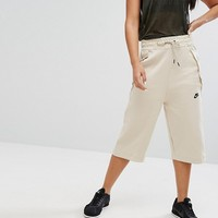Nike Cropped Ankle Pant In Oatmeal at asos.com