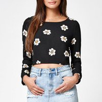 Kendall and Kylie Printed Open Back Top at PacSun.com