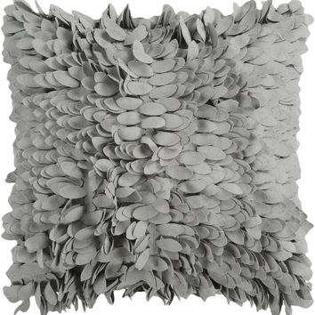 Claire Throw Pillow Gray