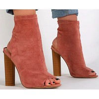 THE SLINGBACK BOOTIE