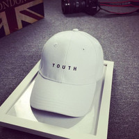 HOT Youth Embroidered Baseball Hat Cap