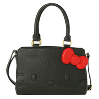 Loungefly Hello Kitty Quilt Walking Stitch Face Bag