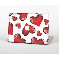"""The Glossy Red 3D Love Hearts Skin for the Apple MacBook Air 13"""""""