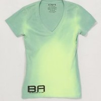 BA - Green to Yellow - Women's - Color Changing Deep V-Neck