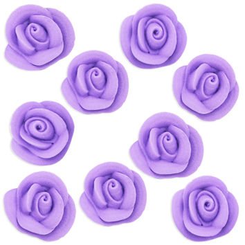 Lavender Icing Roses