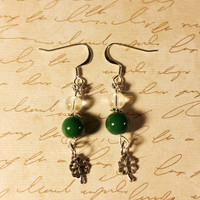 St. Paricks Day earrings