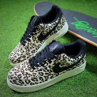 Nike Wmns Air Force 1 '07 LX Animal Prints Pack Snow Leopard Sneaker AF1 898889-004 Shoes - Best Online Sale