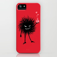 Evil Bug Made A Love Potion For You iPhone Case by borianagiormova