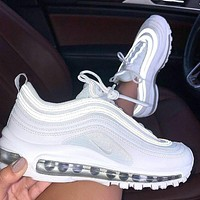 NIKE AIR MAX 97 Mint Green Bullet Shoe