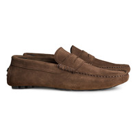 H&M - Suede Loafers