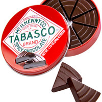 Tabasco Brand Spicy Chocolate Wedges