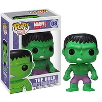 Funko POP! Heroes Vinyl Bobble-Head - Marvel - HULK (4 inch): BBToyStore.com - Toys, Plush, Trading Cards, Action Figures & Games online retail store shop sale