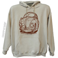 HippieShop.com Peace Bug Hoodie on Sale for $29.95 at HippieShop.com