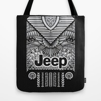 Aztec Jeep iPhone 4 4s 5 5c 6, pillow case, mugs and tshirt Tote Bag by Greenlight8 | Society6