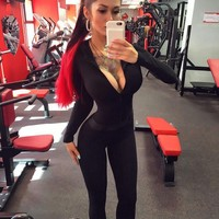 Women's Fashion Casual Sports Jumpsuit [10153556172]