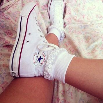 Converse Fashion Canvas Flats Sneakers Sport Shoes-14