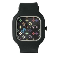 black gossip rag logo Watch