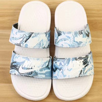Nike Benassi Duo Ultra Slide Double strap casual slippers