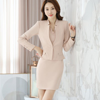 New Arrival Formal Dress Suits for Women Business Suits with Blazer and Jacket Sets Ladies Office Uniform Style OL