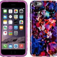 Speck 73774-C083 Case for iPhone 6, 6s - LushFloral Pattern/Beaming Orchid Purple